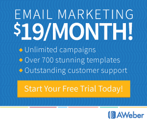 Start Your Free Aweber Trial Today!