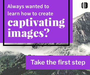 Always wanted to learn how to create captivating images? Take the first step
