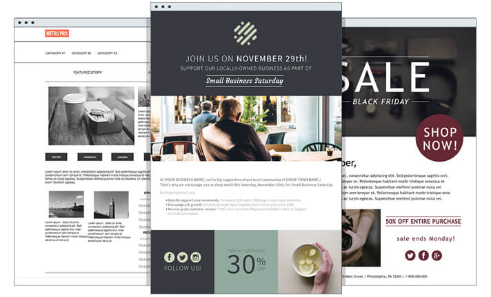 HTML Email Templates | AWeber Email Marketing