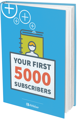 AWeber first 5000 email marketing guide