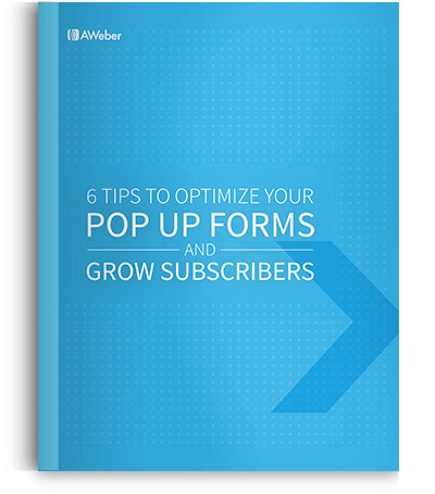 Optimize your pop up forms