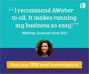 Unlimited Annual Promo Code Email Marketing Aweber March