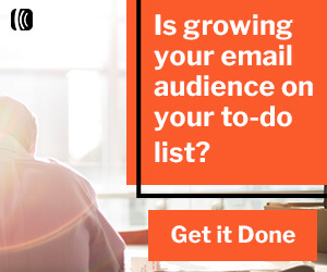 Is growing your email audience on your to-do list? Get it done